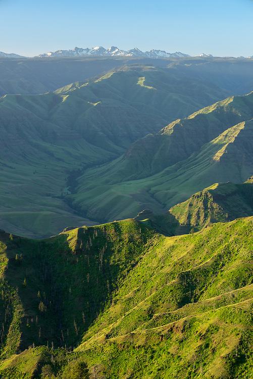 Hells Canyon and the Seven Devils Mountains, Oregon/Idaho.