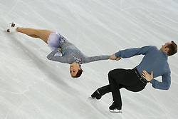 The XXII Winter Olympic Games 2014 in Sotchi, Olympics, Olympische Winterspiele Sotschi 2014, Figure Skating, Pairs Short Program,<br /> Maylin Wende and Daniel Wende (Germany) *** Local Caption ***