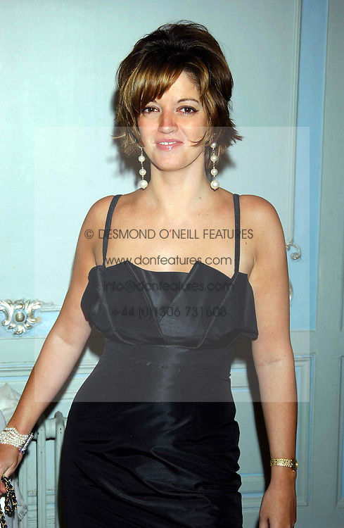 The HON.PETRONELLA WYATT at a party to celebrate the publication of 'Princesses' the six daughters of George 111 by Flora Fraser held at the Saville Club, Brook Street, London W1 on 14th September 2004.<br />