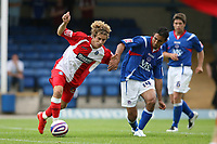 Photo: Pete Lorence.<br />Chesterfield Town v Wycombe Wanderers. Coca Cola League 2. 01/09/2007.<br />Sergio Torres on the offensive.