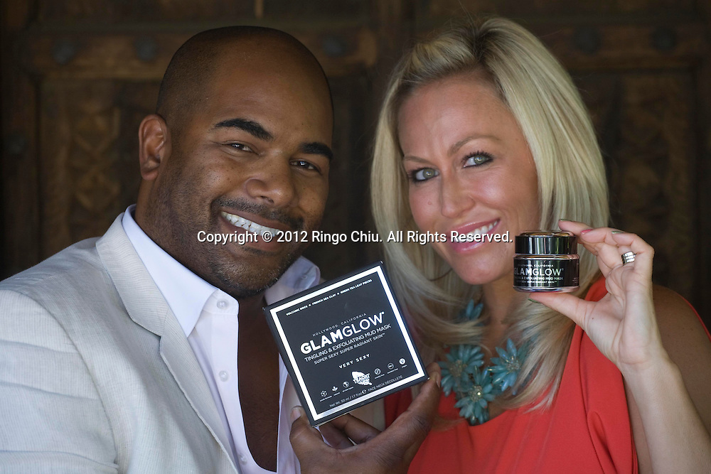 Shannon and Glenn Dellimore co-CEOs of GlamGlow Inc.  (Photo by Ringo Chiu/PHOTOFORMULA.com).
