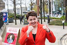 Ruth Davidson casts her vote | Edimnburgh | 5 May 2016
