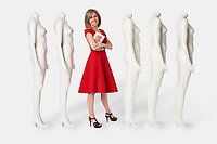 Alisyn Camerota, American journalist, author and anchor of CNN's morning show New Day photographed by Michel Leroy