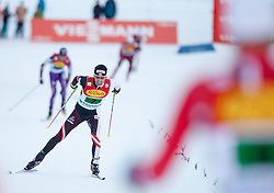 14.12.2013, Nordische Arena, Ramsau, AUT, FIS Nordische Kombination Weltcup, Langlauf Teamsprint, im Bild Mario Stecher (AUT) // Mario Stecher (AUT) during Team Sprint Cross Country of FIS Nordic Combined <br /> World Cup, at the Nordic Arena in Ramsau, Austria on 2013/12/14. EXPA Pictures © 2013, EXPA/ JFK