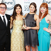 TVNZ NZ Marketing Awards 2015 - Winners Backdrop