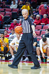 NORMAL, IL - February 15:  David Stevens during a college basketball game between the ISU Redbirds and the Valparaiso Crusaders on February 15 2020 at Redbird Arena in Normal, IL. (Photo by Alan Look)