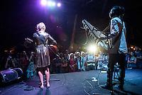 Vieux Cissokho & Hera performing at the Bali Spirit Festival, Ubud, Bali, Indonesia, 3/4/2015.