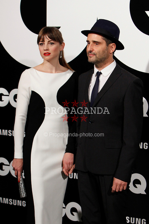 MADRID, SPAIN - Monday, November 19, 2012: Leonor Watling and Jorge Drexler attends GQ Men of the Year 2012 Awards at at the Westin Palace Hotel. (Pic by Caro Marin/AlterPhotos/Propaganda)