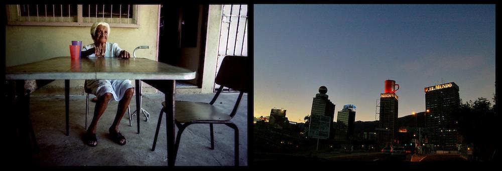 DAILY VENEZUELA II / VENEZUELA COTIDIANA II<br /> Photography by Aaron Sosa <br /> <br /> Left: Clarines, Anzoategui State - Venezuela 2004  / Clarines, Estado Anzoategui - Venezuela 2004<br /> <br /> Right: Plaza Venezuela, Caracas - Venezuela 2007<br /> <br /> (Copyright © Aaron Sosa)