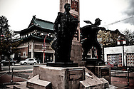 The Chinatown Memorial Square, Vancouver, Canada