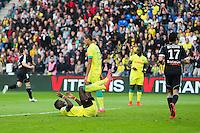 BUT CSC Papy DJILOBODJI - 16.05.2015 - Nantes / Lorient - 37eme journee de Ligue 1<br />Photo : Vincent Michel / Icon Sport