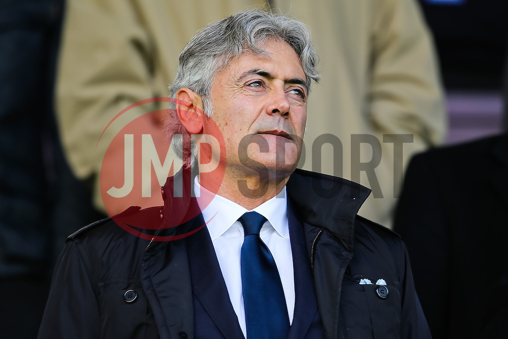 Tottenham technical director Franco Baldini  - Photo mandatory by-line: Matt McNulty/JMP - Mobile: 07966 386802 - 05/04/2015 - SPORT - Football - Burnley - Turf Moor - Burnley v Tottenham Hotspur - Barclays Premier League