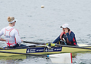 Caversham, Nr Reading, Berkshire.<br /> <br /> Women's Eight Cox, Zoe DE TOLEDO. Olympic Rowing Team Announcement morning training before the Press conference at the RRM. Henley.<br /> <br /> Thursday  DATE}<br /> <br /> [Mandatory Credit: Peter SPURRIER/Intersport Images]