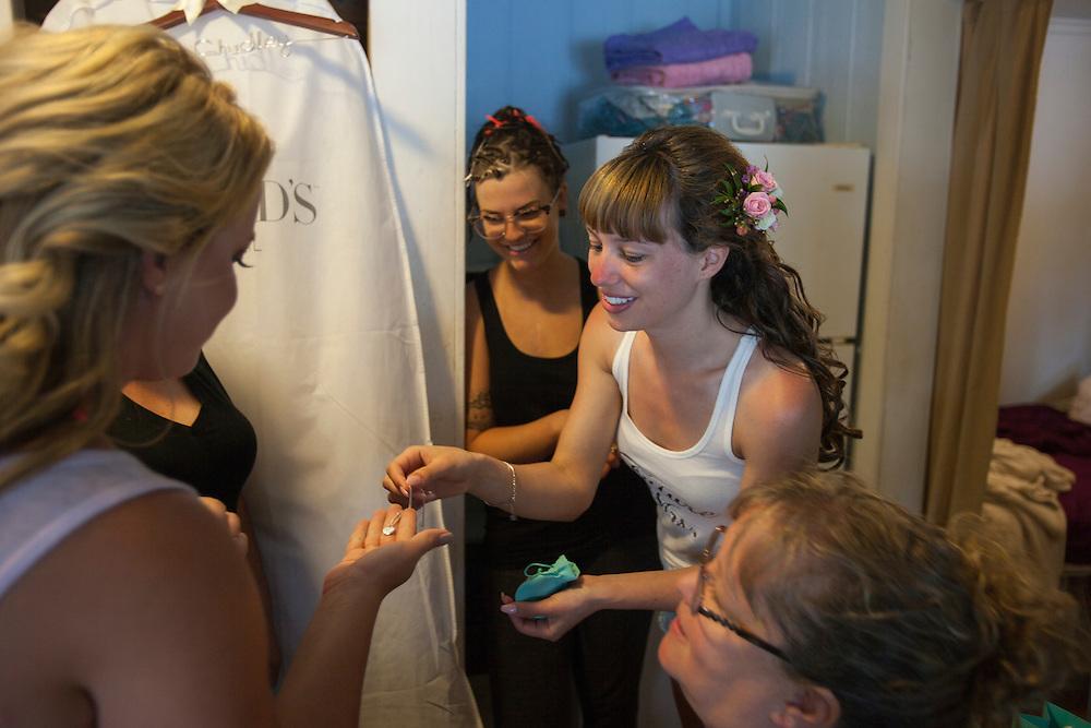 Bala, Ontario ---2016-07-22--- Justin and Chantal Chidley's Wedding in Bala, Ontario<br /> GEOFF ROBINS
