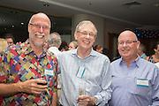 Phill Vivian, Terry O'Neil & Trevor Dalton. RLB 40th Birthday, Hilton. Photo Shane Eecen Creative Light Studios