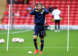 Adam Matthews of Bristol City warms up - Mandatory by-line: Robbie Stephenson/JMP - 29/10/2016 - FOOTBALL - Oakwell Stadium - Barnsley, England - Barnsley v Bristol City - Sky Bet Championship