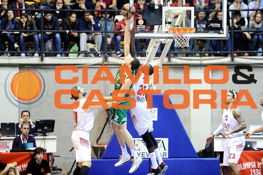 DESCRIZIONE : Desio Eurolega Euroleague 2014-15 EA7 Emporio Armani Milano Panathinaikos Atene<br /> GIOCATORE : Shawn James<br /> CATEGORIA : rimbalzo controcampo<br /> SQUADRA : EA7 Emporio Armani Milano<br /> EVENTO : Eurolega Euroleague 2014-2015<br /> GARA : EA7 Emporio Armani Milano Panathinaikos Atene<br /> DATA : 11/12/2014<br /> SPORT : Pallacanestro <br /> AUTORE : Agenzia Ciamillo-Castoria/Max.Ceretti<br /> Galleria : Eurolega Euroleague 2014-2015<br /> Fotonotizia : Desio Eurolega Euroleague 2014-15 EA7 Emporio Armani Milano Panathinaikos Atene<br /> Predefinita :