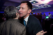 JEREMY HUNT, LA Philharmonic reception, Fountain room, Barbican. 27 January 2011 -DO NOT ARCHIVE-© Copyright Photograph by Dafydd Jones. 248 Clapham Rd. London SW9 0PZ. Tel 0207 820 0771. www.dafjones.com.