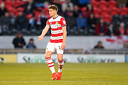 Doncaster Rovers midfielder, on loan from Chelsea, Jordan Houghton (16)  wants the ball during the EFL Sky Bet League 2 match between Doncaster Rovers and Hartlepool United at the Keepmoat Stadium, Doncaster, England on 19 November 2016. Photo by Simon Davies.