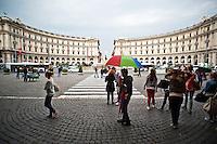 Rome - 2013 - Piazza della Repubblica
