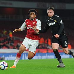Arsenal U23 v Swansea City U23,  Premier League 2, 13 April 2018