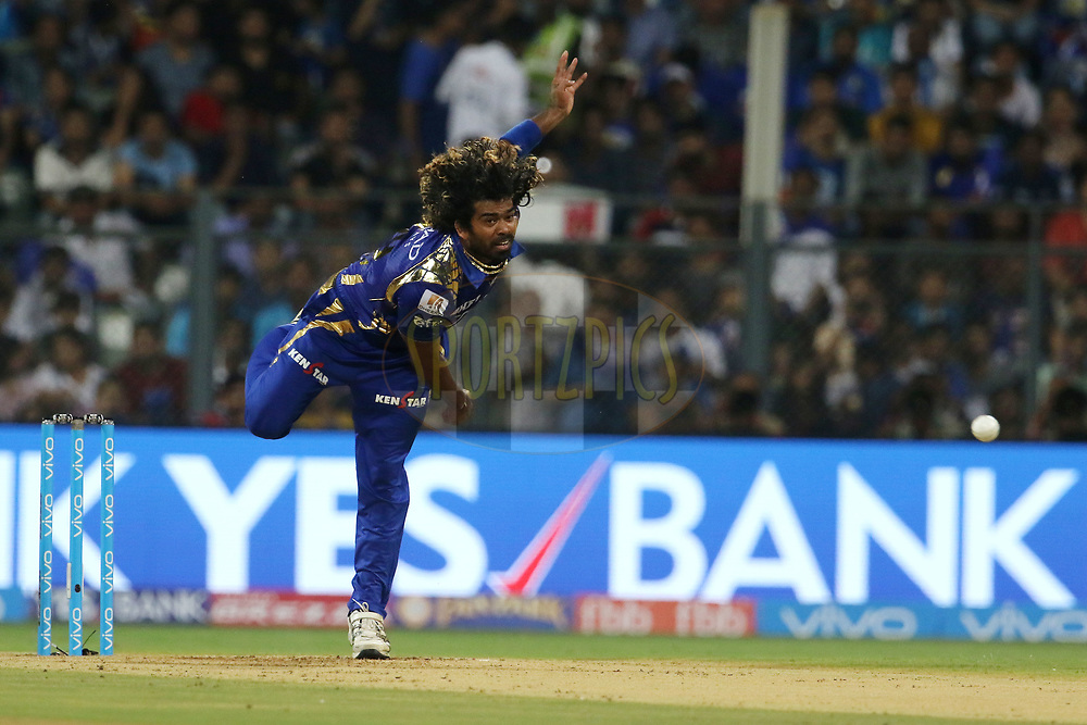 during match 7 of the Vivo 2017 Indian Premier League between the Mumbai Indians and the Kolkata Knight Riders held at the Wankhede Stadium in Mumbai, India on the 9th April 2017<br /> <br /> Photo by Vipin Pawar - IPL - Sportzpics