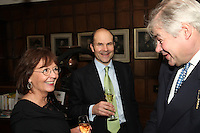 Audrey Hoare, Neil Phillips (Pernod Ricard UK) and Simon Berry (Berry Brothers & Rudd)