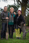 Ata Rangi Clive Paton, Phyllis Pattie, &  sister , Martinborough, New Zealand