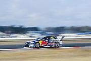 19th May 2018, Winton Motor Raceway, Victoria, Australia; Winton Supercars Supersprint Motor Racing; Shane van Gisbergen drives the number 97 Triple Eight Race Engineering Holden Commodore ZB
