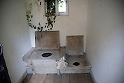 Victorian toilets, Museum of East Anglian Life, Stowmarket, Suffolk