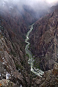 Black Canyon of the Gunnison National Park, clouds