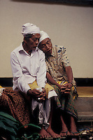 old friends, Bali, Indosesia - photograph by Owen Franken