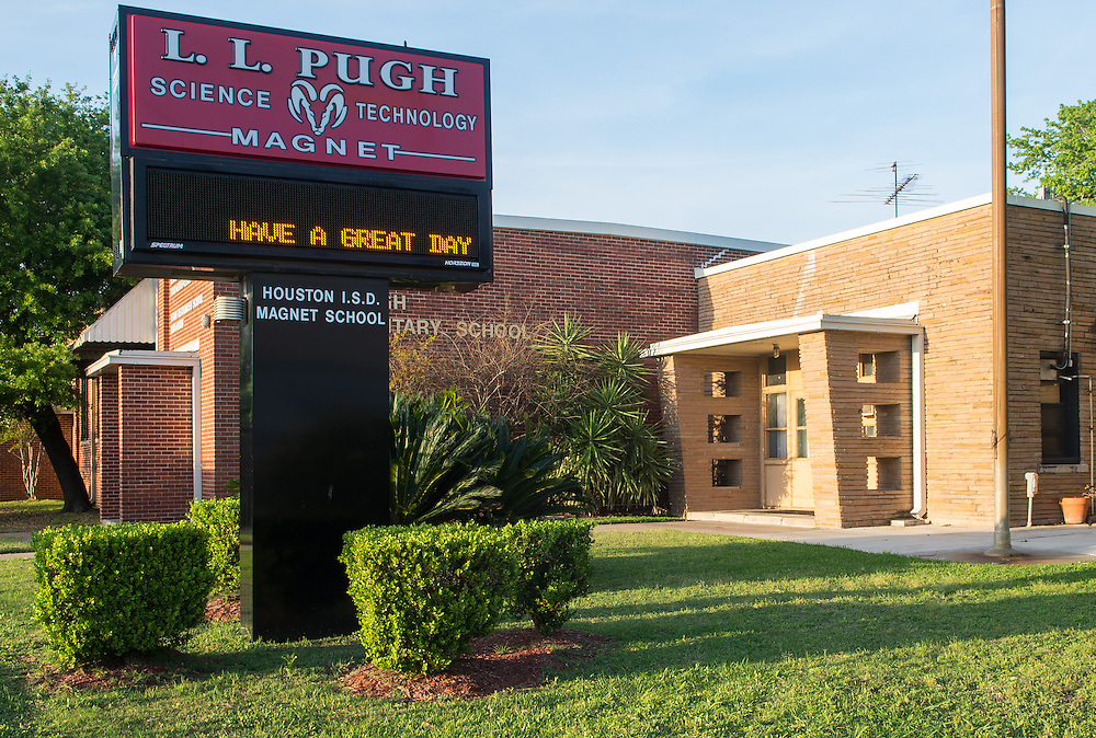 L. L. Pugh Elementary School photographed April 5, 2013. The school was a recipient of funds from the 2007 Bond.