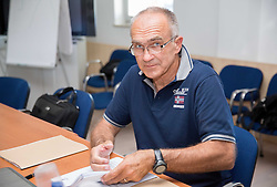 Viktor Vauhnik during meeting of Executive Committee of Ski Association of Slovenia (SZS) on June 9, 2014 in SZS, Ljubljana, Slovenia. Photo by Vid Ponikvar / Sportida