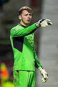 Conor Hazard (#15) of Partick Thistle FC during the William Hill Scottish Cup quarter final replay match between Heart of Midlothian and Partick Thistle at Tynecastle Stadium, Gorgie, Edinburgh Scotland on 12 March 2019.