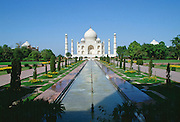 The Taj Mahal at Agra, India