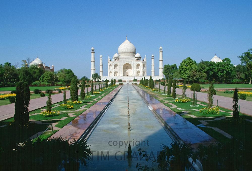 The Taj Mahal at Agra, India