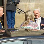 NLD/Amsterdam/20150624- Koning Willem-Alexander en Koningin Máxima ontvangen  het Corps Diplomatique voor het jaarlijkse galadiner in het Koninklijk Paleis Amsterdam, Koningin Maxima