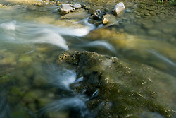 Stock photo of the flowing water of the Frio River in the Texas Hill Country