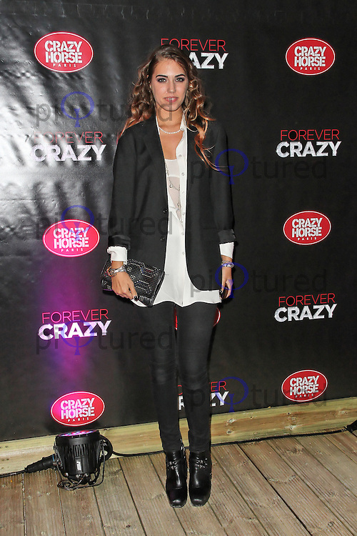 LONDON - SEPTEMBER 19: Amber Le Bon attended the premiere of 'Crazy Horse Presents Forever Crazy' at The Crazy Horse, London, UK. September 19, 2012. (Photo by Richard Goldschmidt)