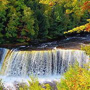 &quot;Upper Tahquamenon Falls&quot; 3<br /> <br /> Scenic Upper Tahquamenon Falls during early autumn. Locatedin Michigan's Upper Peninsula!!<br /> <br /> Waterfalls by Rachel Cohen