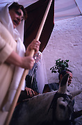 SPAIN /  Extremadura / Badajoz / Alburquerque.  Medieval recreations in Spain. Sephardic wedding. The village celebrates every August Medieval journeys....