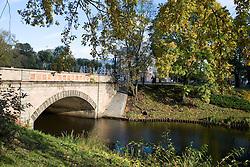 Canal near Freedom Monument - Riga, Latvia