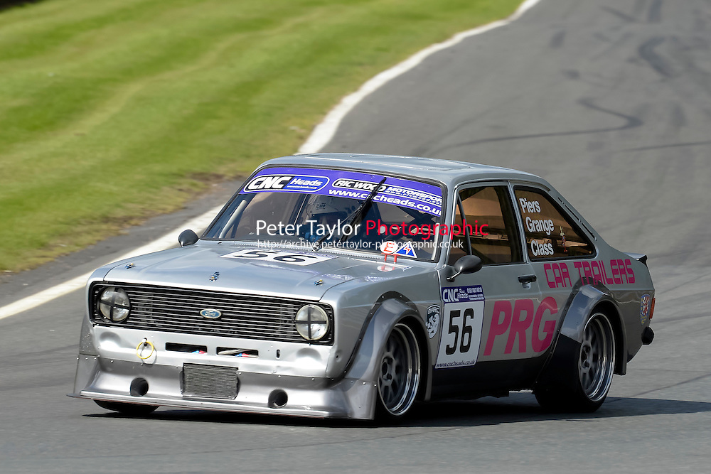 #56 Piers Grange Ford Escort Mk2 2300 during the CNC Heads Sports & Saloon Car Championship at Oulton Park, Little Budworth, Cheshire, United Kingdom. August 06 2016. World Copyright Peter Taylor/PSP.