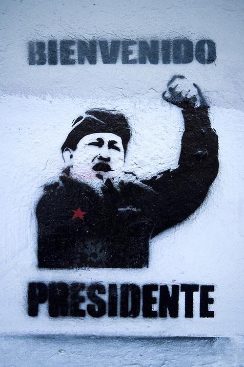 Sign in Bellavista, Santiago, Chile
