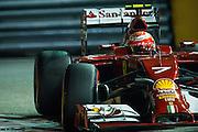 September 18-21, 2014 : Singapore Formula One Grand Prix - Kimi Raikkonen (FIN), Ferrari