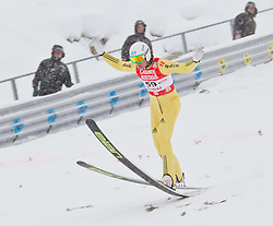 17.12.2011, Casino Arena, Seefeld, AUT, FIS Nordische Kombination, Ski Springen HS 109, im Bild Tino Edelmann (GER) // Tino Edelmann of Germany during Ski jumping at FIS Nordic Combined World Cup in Sefeld, Austria on 20111211. EXPA Pictures © 2011, PhotoCredit: EXPA/ P.Rinderer