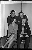 1964 - Ranks Television Question Time Team at Telefis Eireann studio, Donnybrook