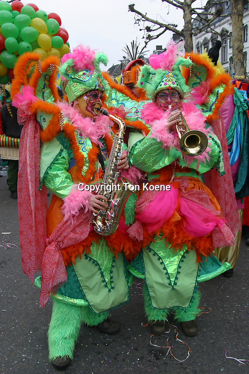 celebrating carnaval in Holland