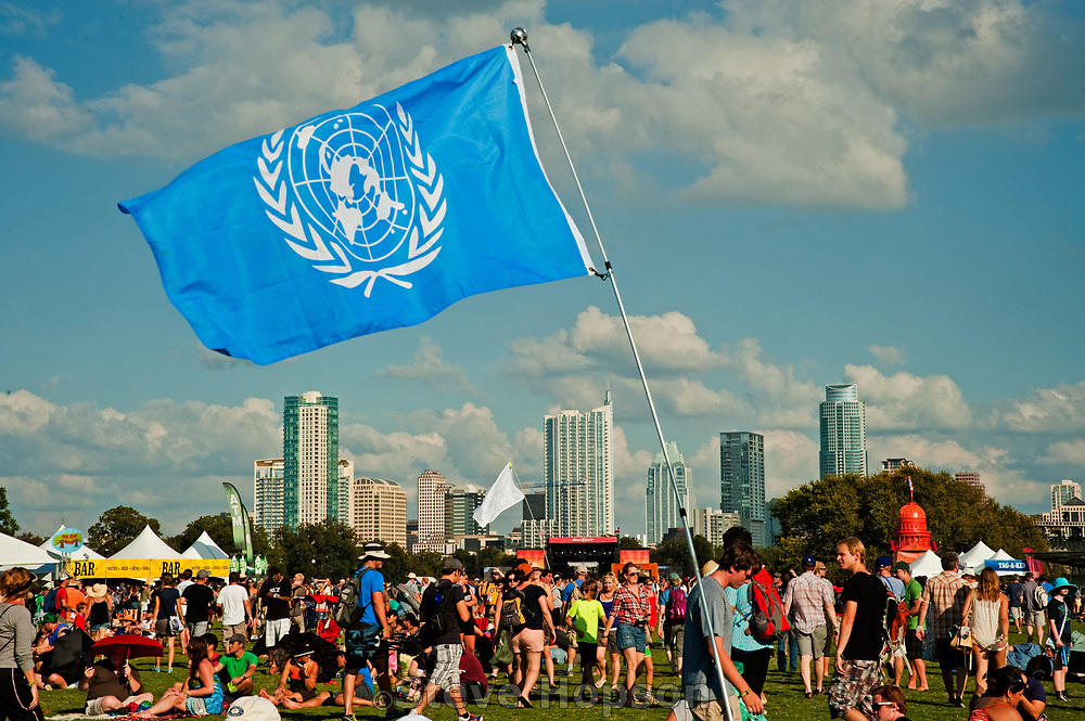 Austin City Limits Music Festival 2011, Austin, Texas, October 12, 2012.